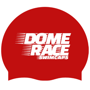dome race swim caps