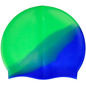 Multi-Color 100%Silicone Cap Green Blue