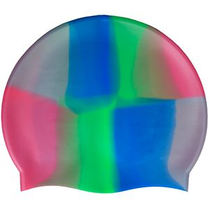 Multi-Color 100%Silicone Cap Green Blue Red