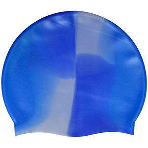 Multi-Color 100% Silicone Cap Blue Grey