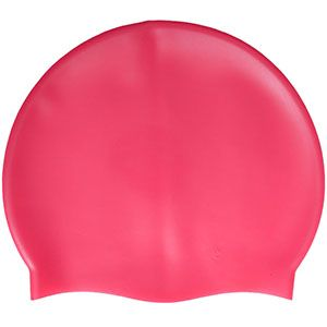 Pink Custom Swim Cap