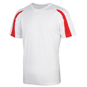 White Micro Fibre T Shirt Image