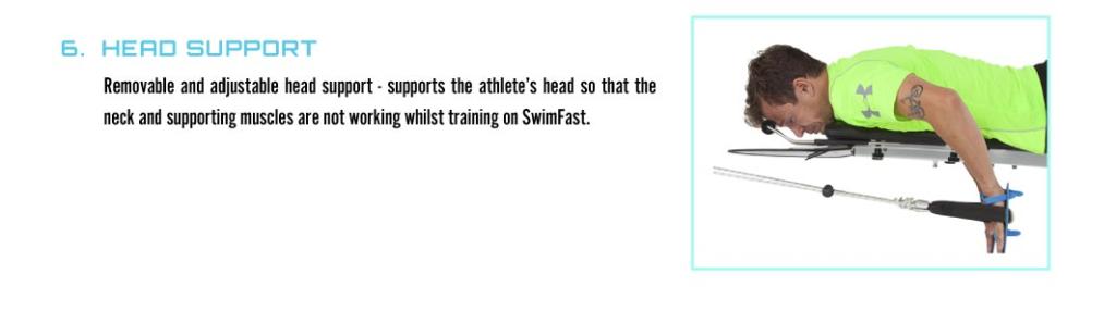 SWIM FAST HEAD SUPPORT