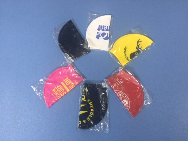 Printedswimcaps siliconce